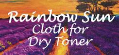 RAINBOW SUN CLOTH FOR DRY TONER
